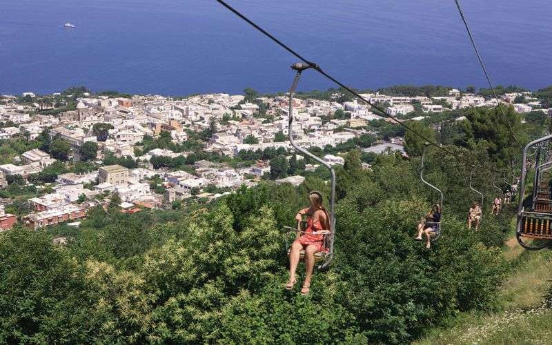 capri chair lift