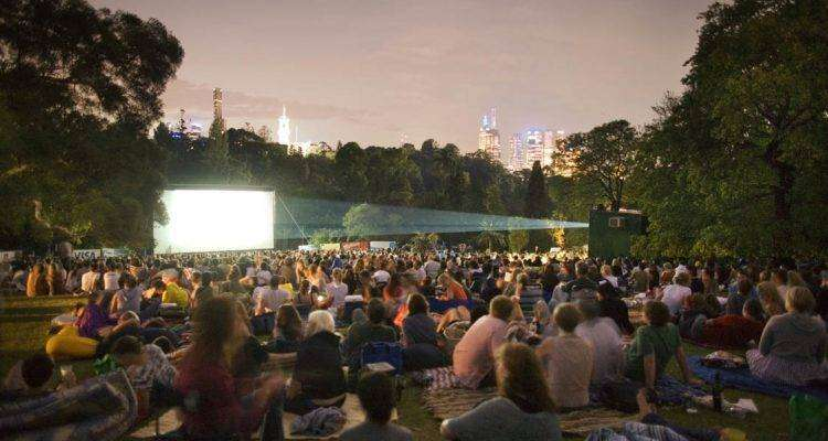 Botanical gardens outdoor cinema